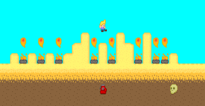 Platformer screenshot